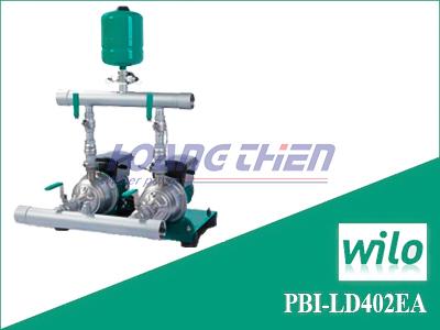 Cụm 2 bơm tăng áp tích hợp biến tần WiLo PBI-LD 402EA