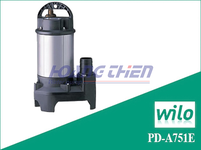 Máy bơm chìm nước sạch Wilo PD-A751E không phao