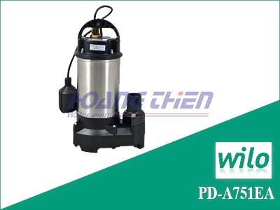 Máy bơm chìm nước sạch Wilo PD-A751EA có phao