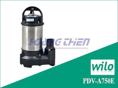 Máy bơm chìm nước thải Wilo PDV-A750E không phao