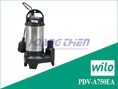 Máy bơm chìm nước thải Wilo PDV-A750EA có phao