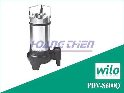Máy bơm chìm nước thải Wilo PDV-S600Q không phao