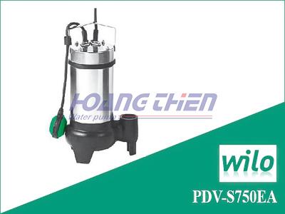 Máy bơm chìm nước thải Wilo PDV-S750EA có phao