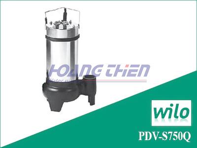 Máy bơm chìm nước thải Wilo PDV-S750Q không phao